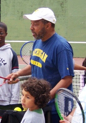 Don J. teaches tennis lessons in Missouri City, TX
