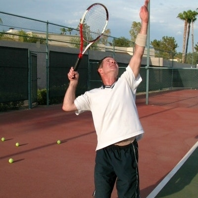 Rob B. teaches tennis lessons in Phoenix, AZ