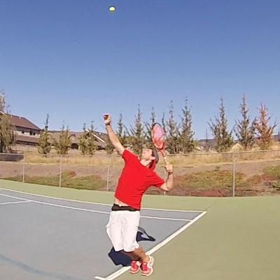 Pojo V. teaches tennis lessons in Medford, OR