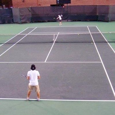 Brian G. teaches tennis lessons in Algonquin, IL