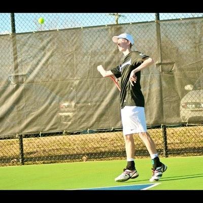 John B. teaches tennis lessons in Greensboro, NC