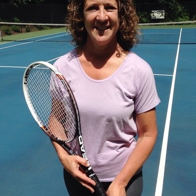 Marcy C. teaches tennis lessons in Shelton, CT