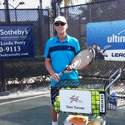 Don T. teaches tennis lessons in Naples, FL