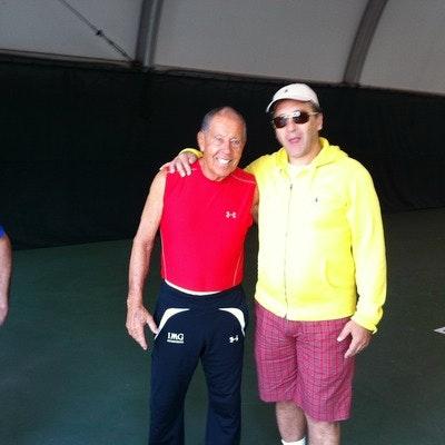 Claudius teaches tennis lessons in Williamsburg, VA