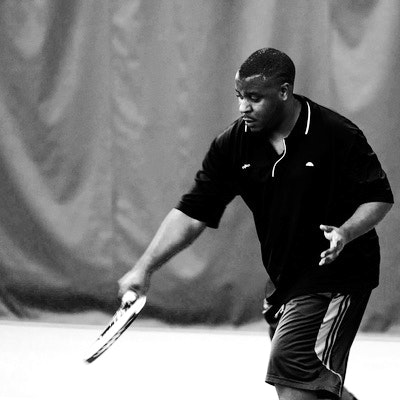 Milton M. teaches tennis lessons in Irving , TX
