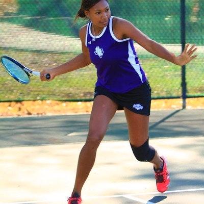 Rachel P. teaches tennis lessons in Houston, TX
