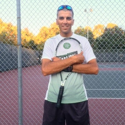 Alex R. teaches tennis lessons in Fremont , CA