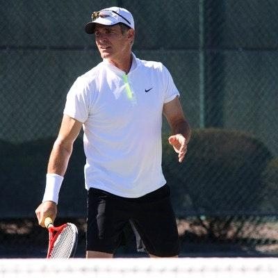 John P. teaches tennis lessons in Matthews, NC