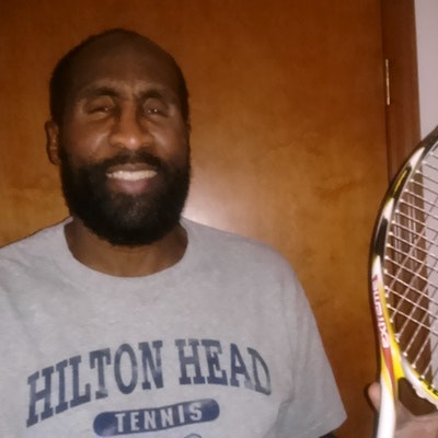 Willie C. teaches tennis lessons in Galena, OH