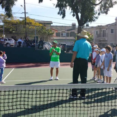 Dave M. teaches tennis lessons in Redondo Beach, CA