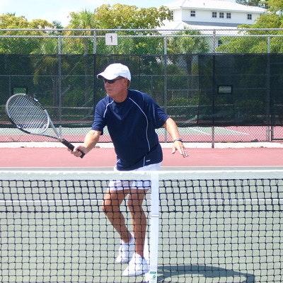 William L. teaches tennis lessons in North Port, FL