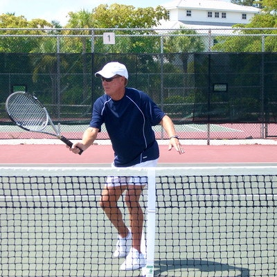 William L. teaches tennis lessons in North Port, FL