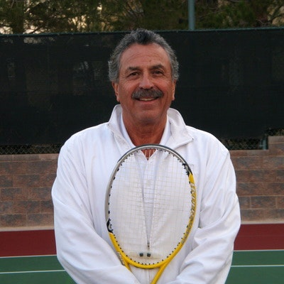 Tom G. teaches tennis lessons in Las Vegas, NV