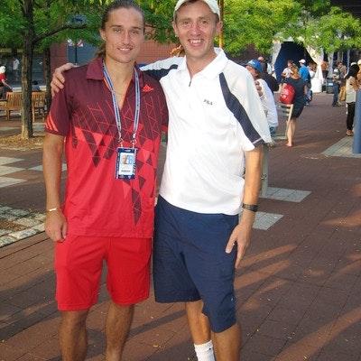 Vasil O. teaches tennis lessons in Orem, UT