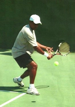 Pierre C. teaches tennis lessons in Garland, TX