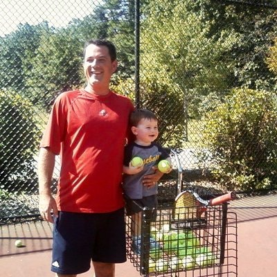 Matthew T. teaches tennis lessons in North Reading, MA