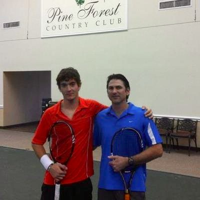 Pierre T. teaches tennis lessons in Houston, TX