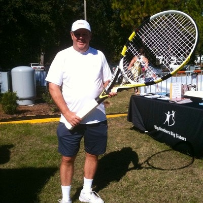 Don K. teaches tennis lessons in Spring Hill, FL
