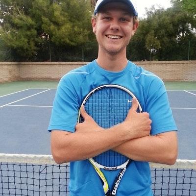 Dillon M. teaches tennis lessons in Henderson, NV
