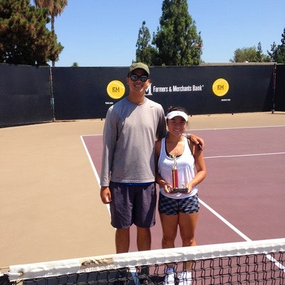 John N. teaches tennis lessons in Anaheim, CA