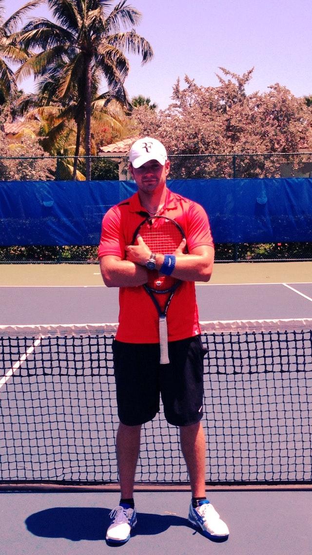 Victor N. teaches tennis lessons in Aventura, FL