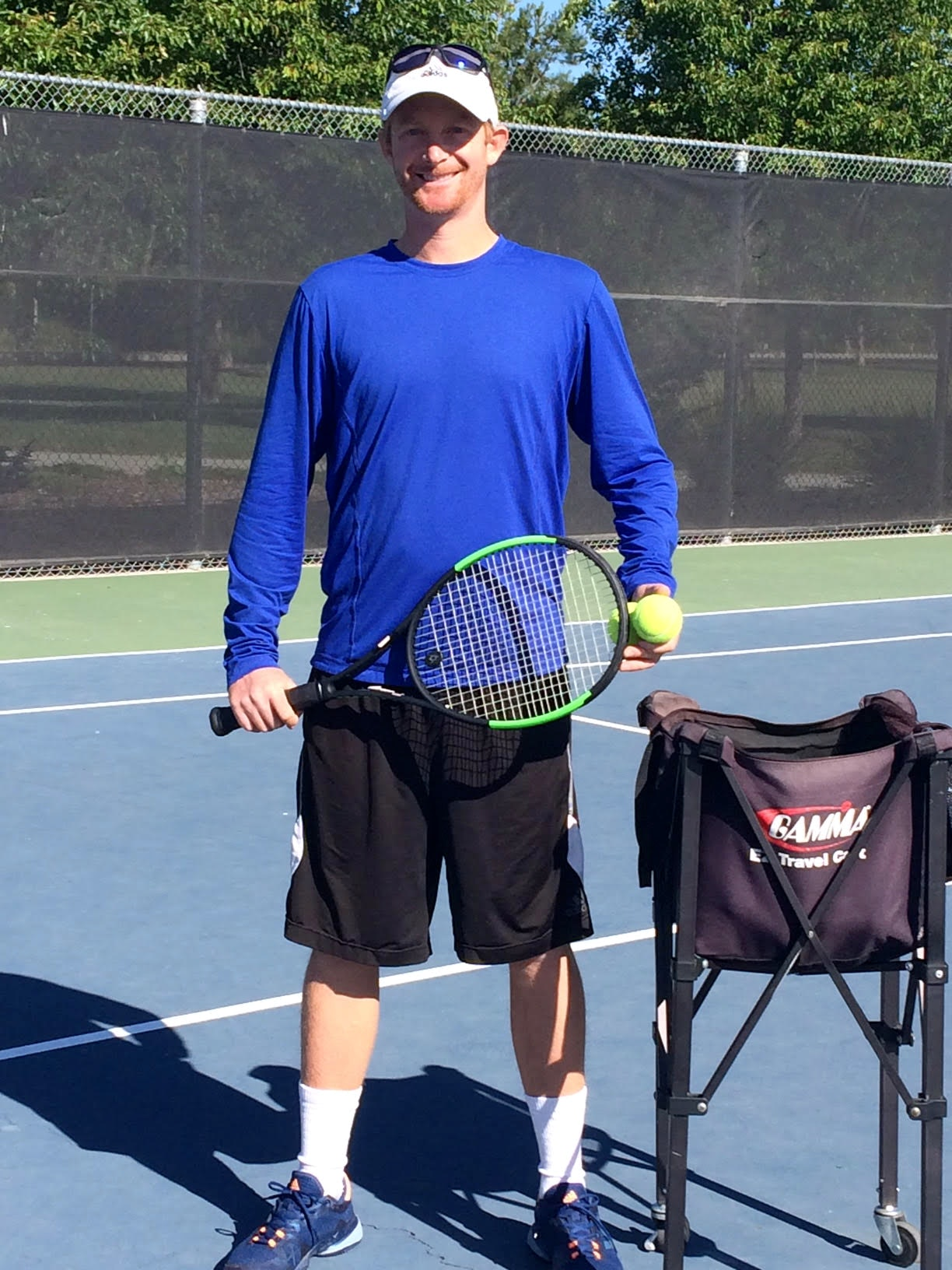Cole S. teaches tennis lessons in Sacramento, CA