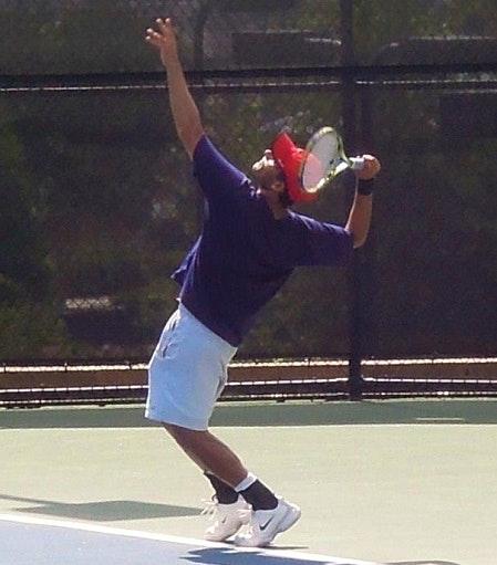 Conrad S. teaches tennis lessons in Locust Grove, GA