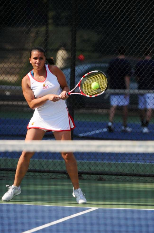 Maria V. teaches tennis lessons in Chevy Chase, MD