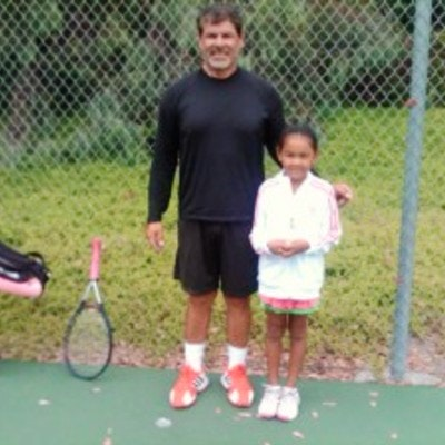 Adrian L. teaches tennis lessons in Santa Barbara, CA
