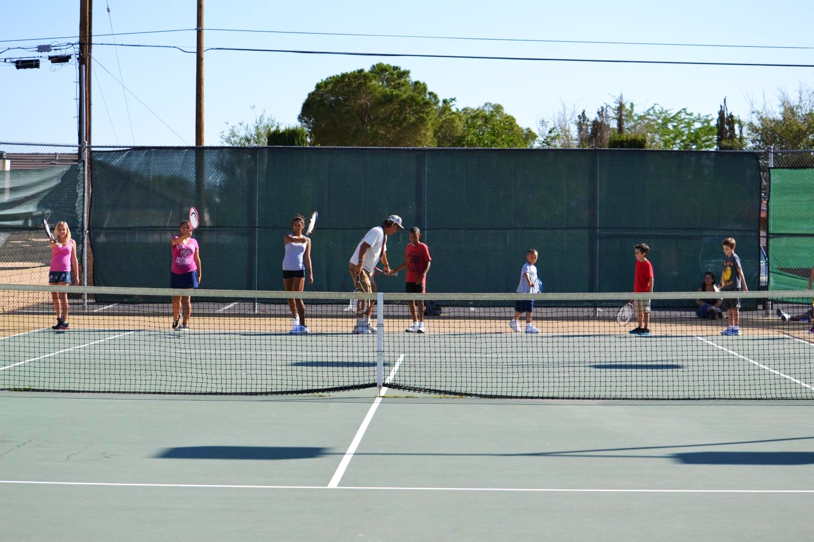 Bill M. teaches tennis lessons in Apple Valley, CA