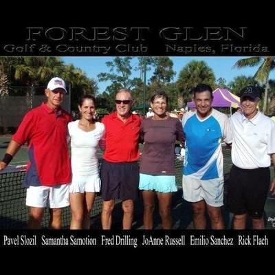 Richard F. teaches tennis lessons in Naples , FL