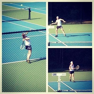 Blair R. teaches tennis lessons in Decatur, GA