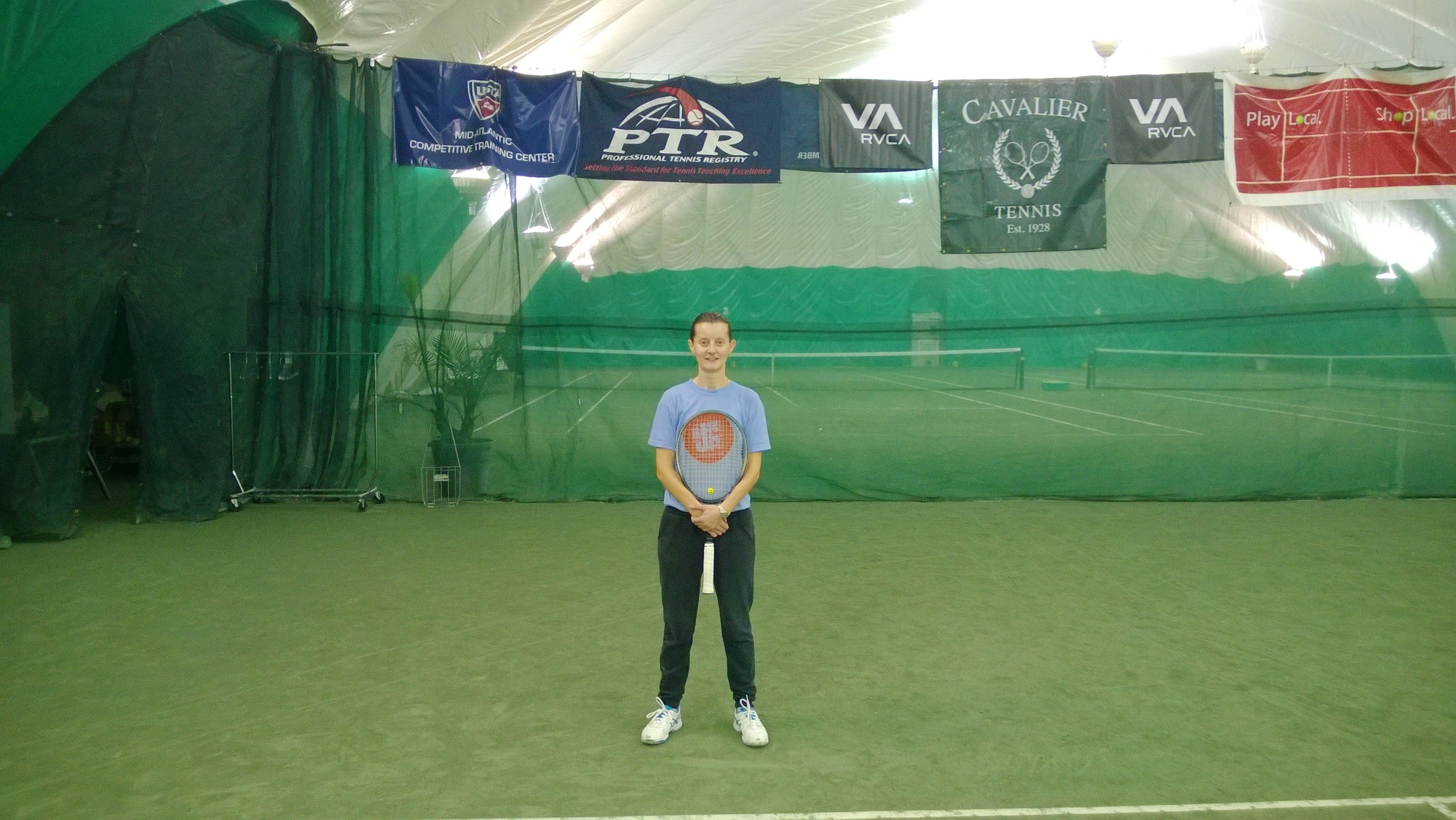 Adriana D. teaches tennis lessons in Woodbridge, VA