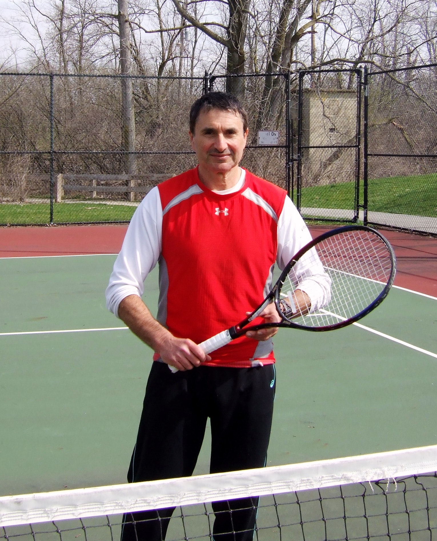 Slava R. teaches tennis lessons in Columbus, OH