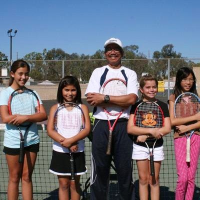Tesoro D. teaches tennis lessons in Lake Forest, CA