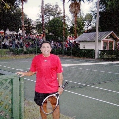 Coach B. teaches tennis lessons in St  Augustine, FL