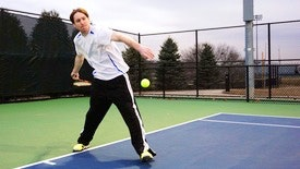 Michael I. teaches tennis lessons in Warrenville, IL