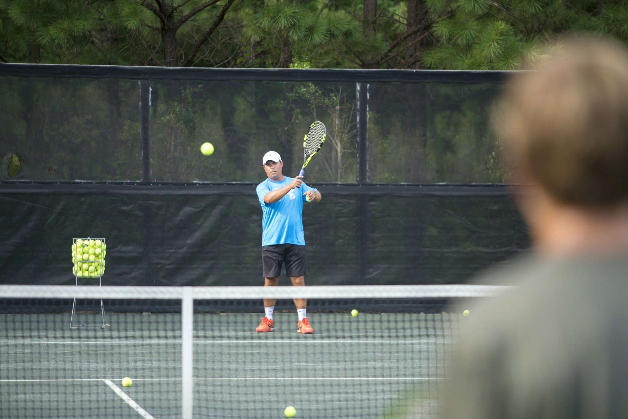 Francois B. teaches tennis lessons in Auburn, AL