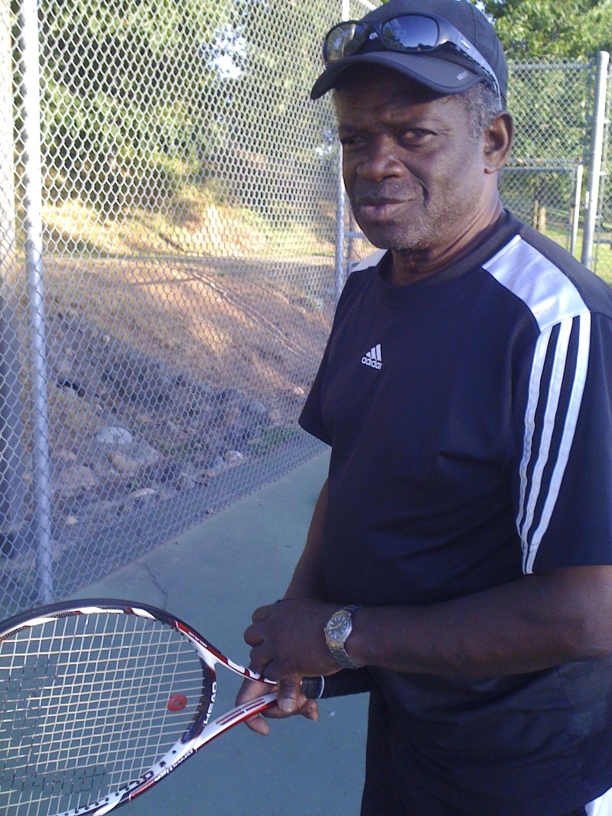 Willie B. teaches tennis lessons in Rancho Cordova, CA