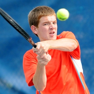 Ethan C. teaches tennis lessons in Terre Haute, IN