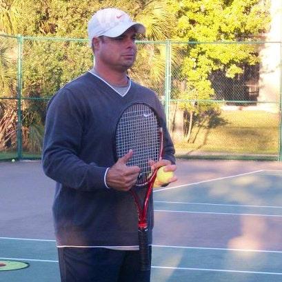 John L. teaches tennis lessons in Saint Cloud, FL