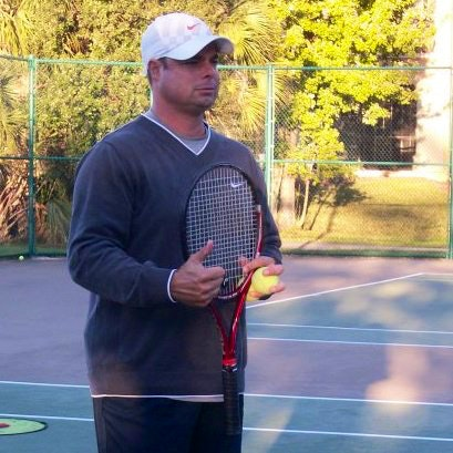 John L. teaches tennis lessons in Saint Cloud, FL
