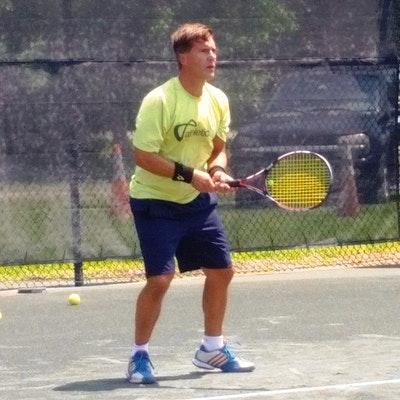 Anthony T. teaches tennis lessons in Jupiter, FL