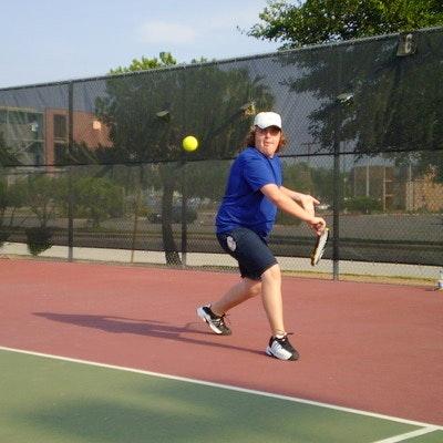 George W. teaches tennis lessons in San Antonio, TX