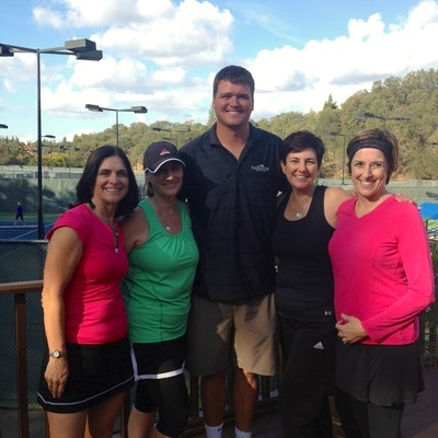 Brad H. teaches tennis lessons in Fair Oaks, CA