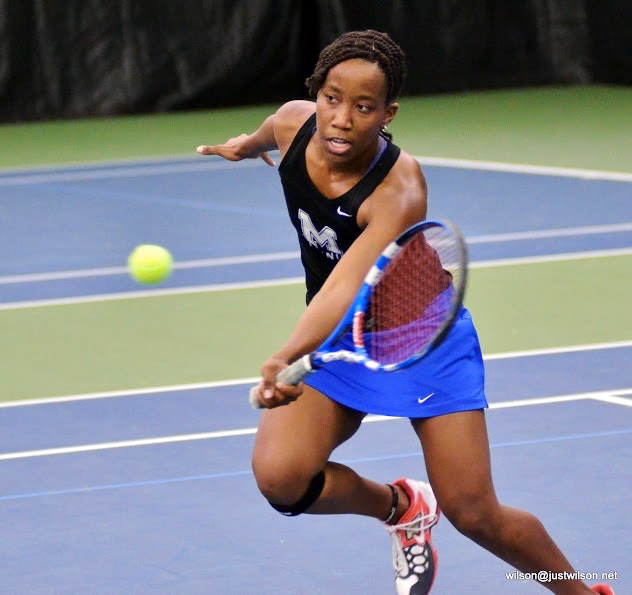 Tiffany W. teaches tennis lessons in Jeffersonville, IN