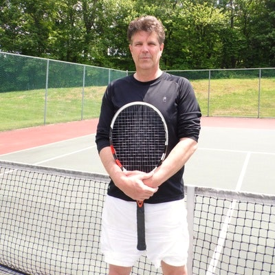 Michael D. teaches tennis lessons in Holland, PA