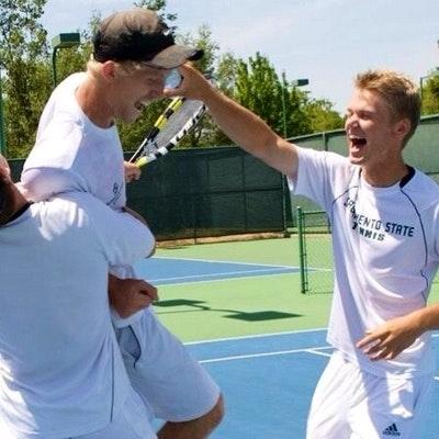Sean K. teaches tennis lessons in Sacramento , CA