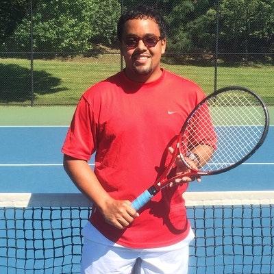 Clayton B. teaches tennis lessons in Mc Lean, VA