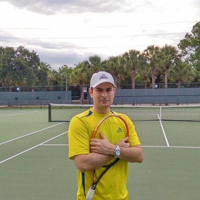 Victor G. teaches tennis lessons in Boca Raton, FL
